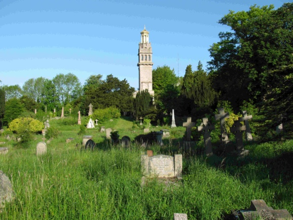 Cemetery and Beckford Tower.jpg