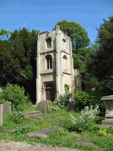 Chapel in St Mary's Old Churchyard.jpg