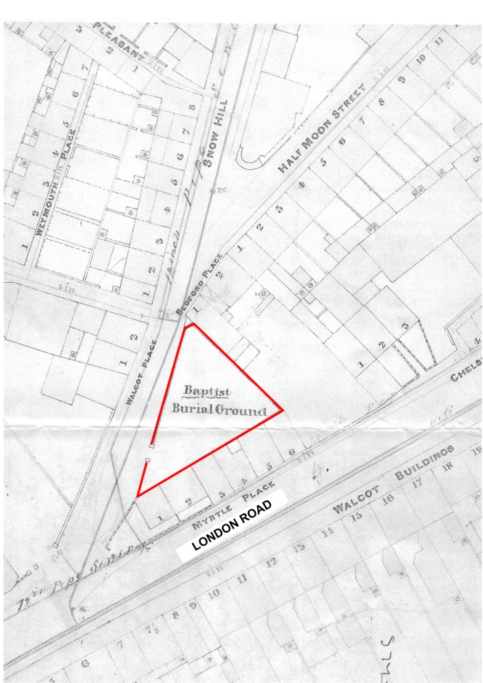 The Location of the first Babtist Burial Ground.jpg