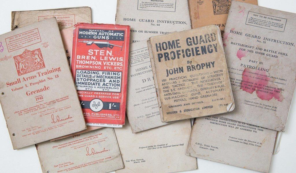 A collection of World War 2 pamphlets