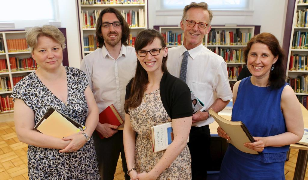 Image: Staff of Bath Record Office