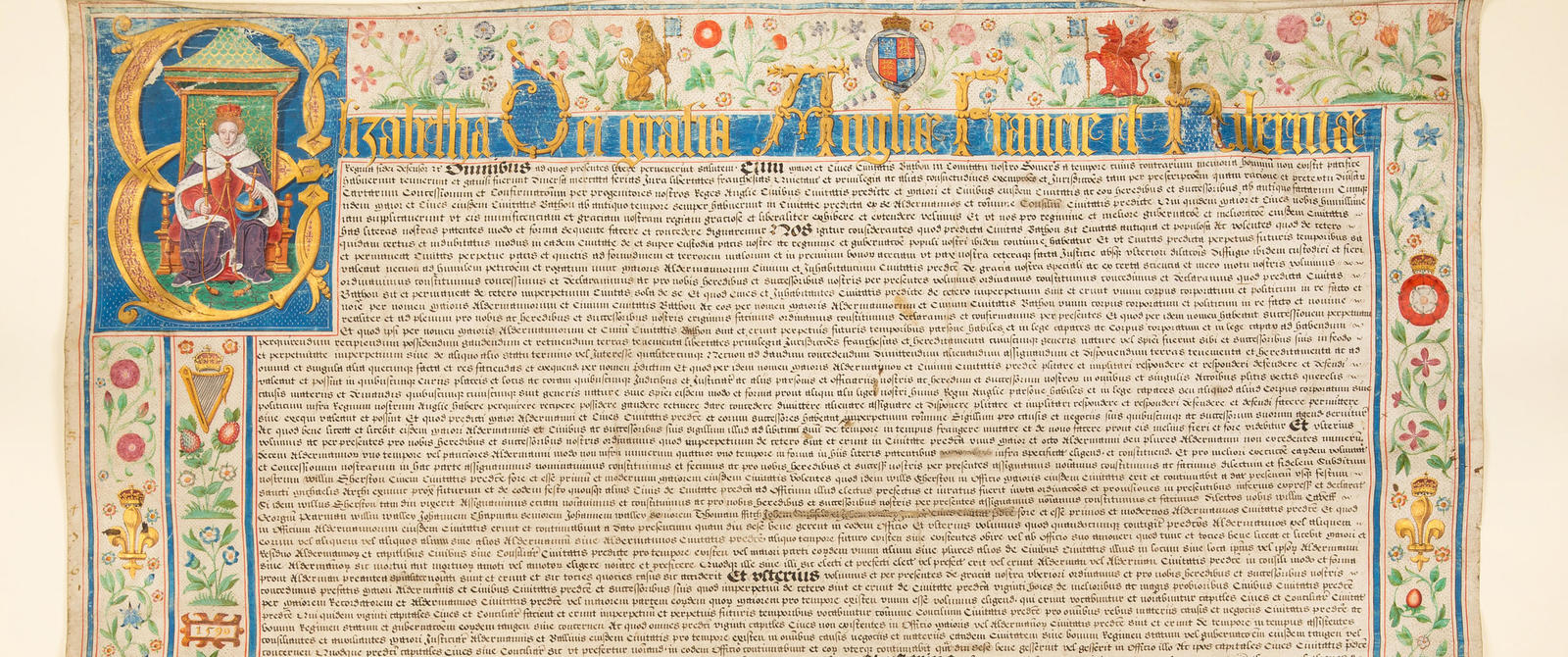 Bath City Charter of Queen Elizabeth I, 1590