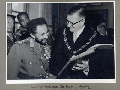 Image: Emperor Haile Selassie and Fairfield House