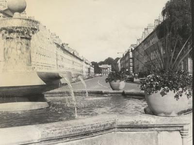 Photograph of Great Pulteney Street, Bath, early 1980s (ref. PX4217)