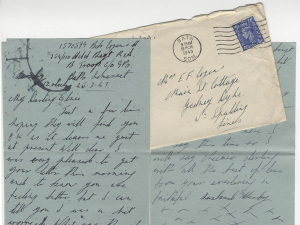 Love-letters from war-time Bath