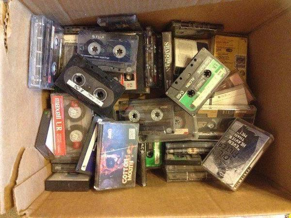 Image: Cassette tapes