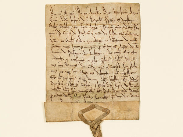 Charter from Richard I to the citizens of Bath 1189